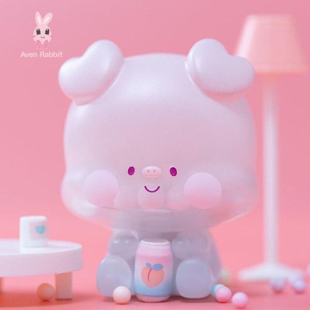 Cola Pig Blind Box Toys Guess Bag Caja Ciega Blind Bag Toys for Girls Anime Figures Cute Desktop Ornaments Model Birthday Gift 2