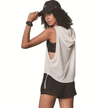 Women Sport T Shirt Breathable Loose Yoga Top Sexy Mesh Fitness Clothes Gym Top Quick Dry Sport Blouses Female Jersey Sleeveless все цены