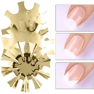 1 шт., металлический триммер для ногтей