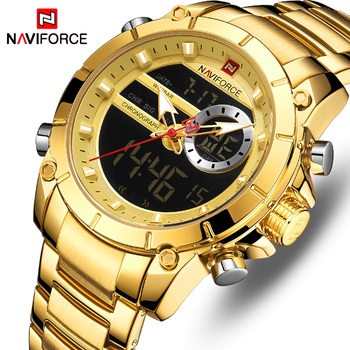 Relogio Masculino Men Watch NAVIFORCE Top Brand Luxury Fashion Military Quartz Mens Watches Waterproof Sports Men's Wrist Watch