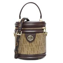 цена на Fashion Women's Bucket Round Crossbody Bag Messenger Handbag Tote Shoulder Purse Purse Women Messenger Bags Bolsas