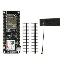 TTGO T-Chamada V1.3 ESP32 Módulo Sem Fio Antena GPRS Placa de Desenvolvimento Cartão SIM Módulo SIM800L ESP32-WROVER-B 2.4GHz SIM800L