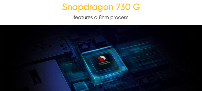 REALME X2 6.4'' Super AMOLED Screen Snapdragon 730G Octa Core 64MP Quad Camera NFC Cellphone VOOC 30W Fast Charge Moblie Phone