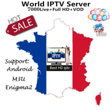 1 mês abonnement frança iptv m3u assinatura 4 k hd completa tv ao vivo vod filmes com adulto para iptv smarters android caixa de tv inteligente(China)
