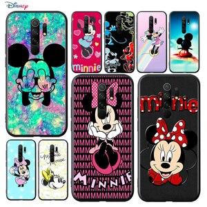 Image 1 - Disney Họa Tiết Hoạt Hình Đáng Yêu Hình Chuột Mickey Cho Xiaomi Redmi 9A 9C 9 Thủ Đi 8A 8 7A 7 S2 6A 6 5 Pro Plus Đen Ốp Lưng Điện Thoại