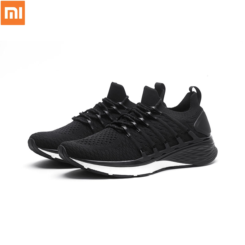2019 mi mi jia Xiao mi chaussures 3 3th hommes Sport baskets confortable respirant léger chaussures intelligentes Sports de plein air Goodyear caoutchouc