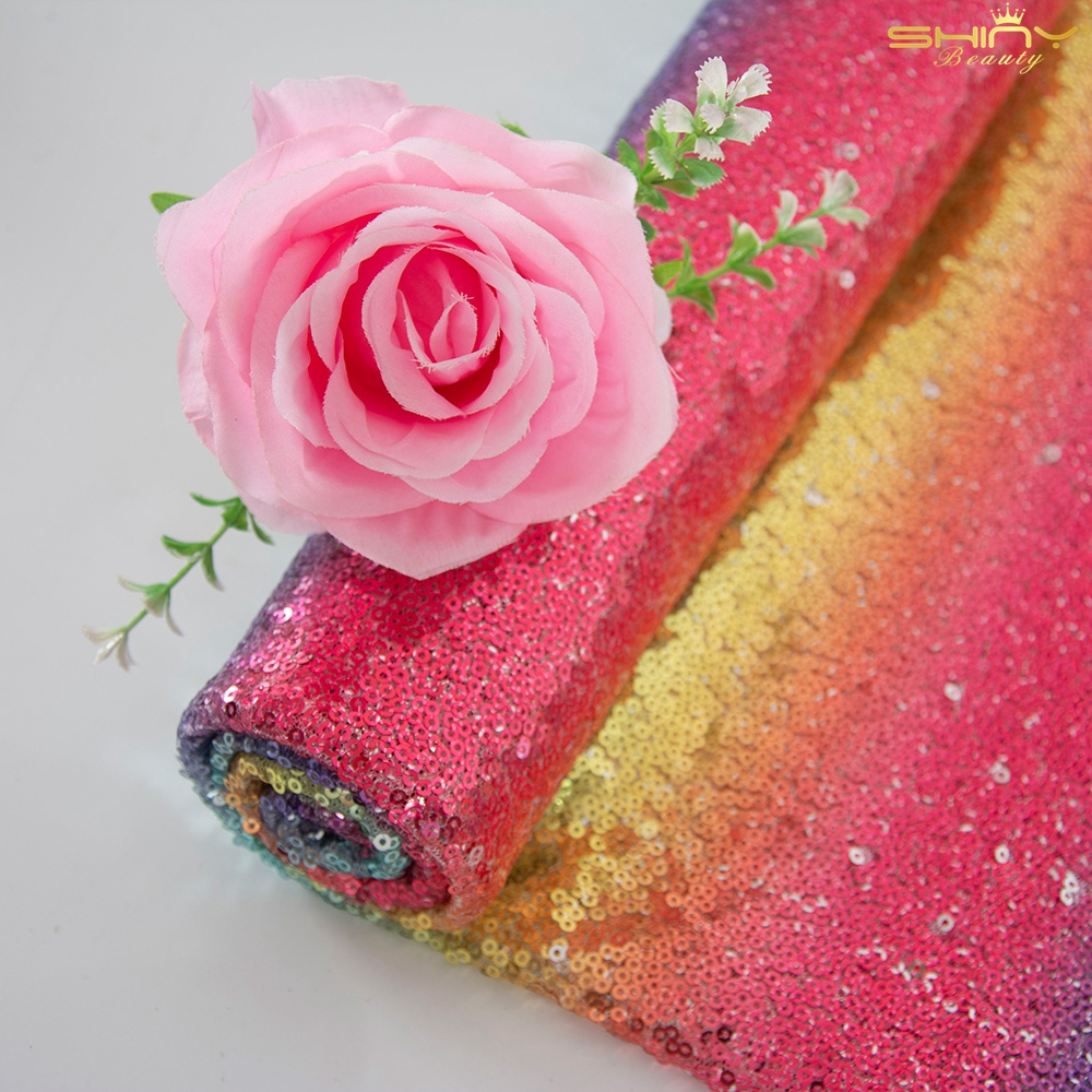 10 Yards Handmade Materials 3mm Sequin Fabric New Sequin Fabric For Dress Making-M191010