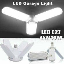 Суперъяркий светодиодный гаражный светильник e27 промышленсветильник