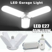 Super Bright E27 LED Garage Light 45W/60W Industrial Lighting Deformable Ceiling Fixture Lights Lamps for workshop