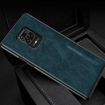 Genuine Oil Wax Leather Case for Redmi Note 9 Pro 9S Note 8 Pro 8T 7 5 Cover For Xiaomi Poco X3 NFC Mi 10 Ultra 8 9 9T Pro A3 A2