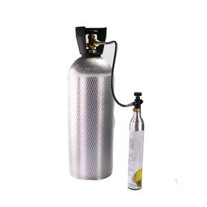 Image 5 - חדש SodaStream SodaClub צילינדר CO2 מילוי תחנת מתאם עם צינור על/כיבוי מתאם W21.8 14(DIN 477) או CGA320 מחבר