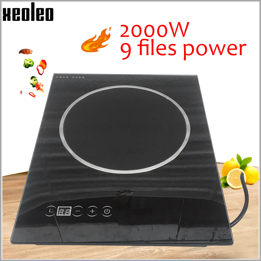 XEOLEO Electric Ceramic Cooker 2000W Household  Radiation-free induction cooker suitable for any pot Touchpad Single-cooker