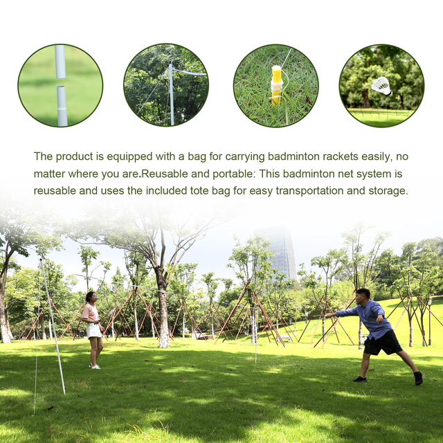Badminton Set  4