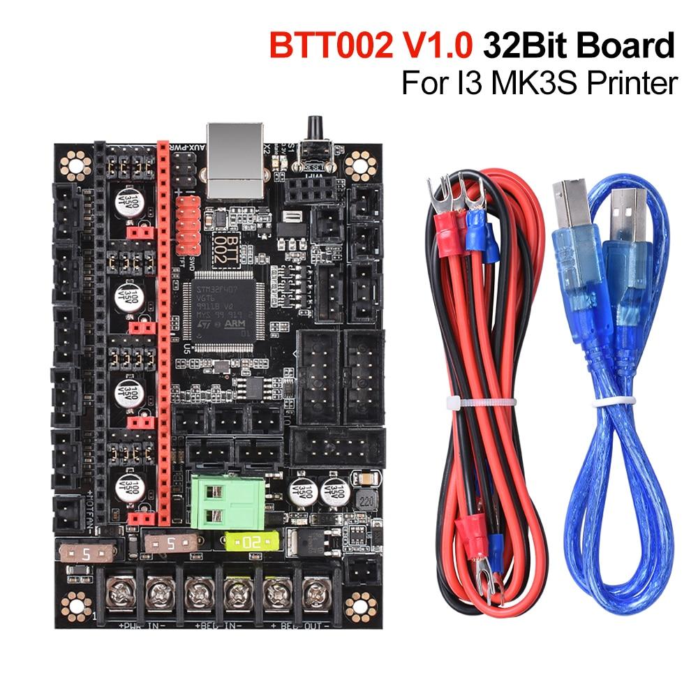 BIGTREETECH BTT002 V1.0 Control Board 32Bit With TMC2209 UART Driver 3D Printer Parts Skr V1.3 1.4 Turbo For I3 MK3S Printer