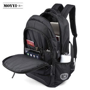 "Image 5 - MOYYI Men Travel Backpack Large Capacity Teenager Male Mochila Anti thief Bag 14 15.6 17.3"" Laptop Backpack Waterproof Bags"