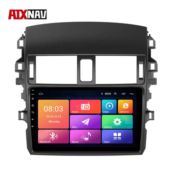 Bluetooth Car Radio Android Navigation Central Multimidia GPS Tourist Navigator Car DVD Player For Toyota Corolla 2009-2013 image
