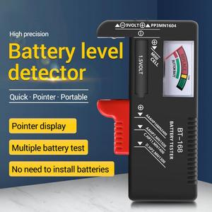 BT-168 ALL AA/AAA/C/D/9V/1.5V batteries Universal Button Cell Battery Color Coded Meter Indicate Volt Tester Checker BT168 Power