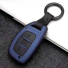 سيارة مفتاح بعيد فوب شل حامل غطاء علبة لشركة هيونداي توكسون كريتا Ix25 Ix35 I10 I20 Ix20 HB20 إلنترا سوناتا المفاتيح