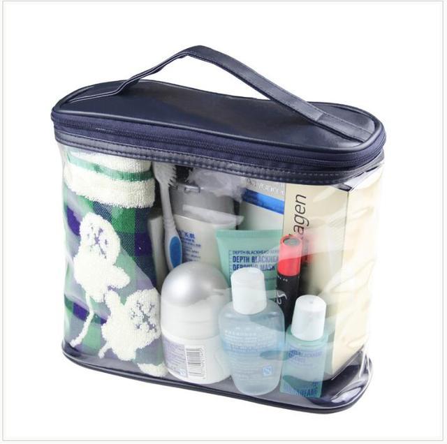 New Arrival Women Makeup Box Professional Portable Zipper Large Cosmetic Bag 1