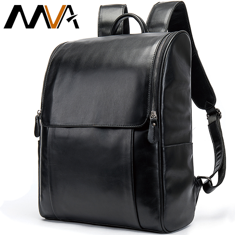 Travel Men Computer Backpack Waterproof School Backpacks Leather Male Man Backpacks Men Laptop Backpack School Bags Mochila 9110