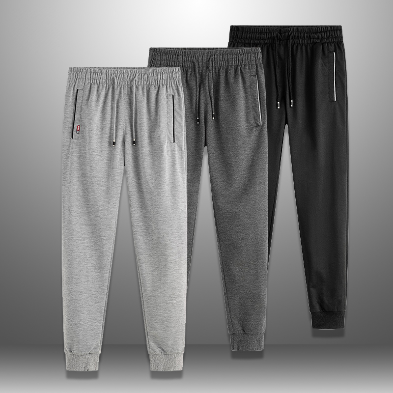 3pcs/lot Solid Sweatpants Men Casual Mens Long Pants Jogger Tracksuit Bottoms Man Streetwear Trousers Pant Men's Sportswear 6XL