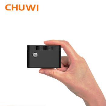 CHUWI LarkBox 4K  World's Smallest Mini PC Intel Celeron J4115 Processor  windows 10 system Quad core 6GB RAM 128G  EMMC