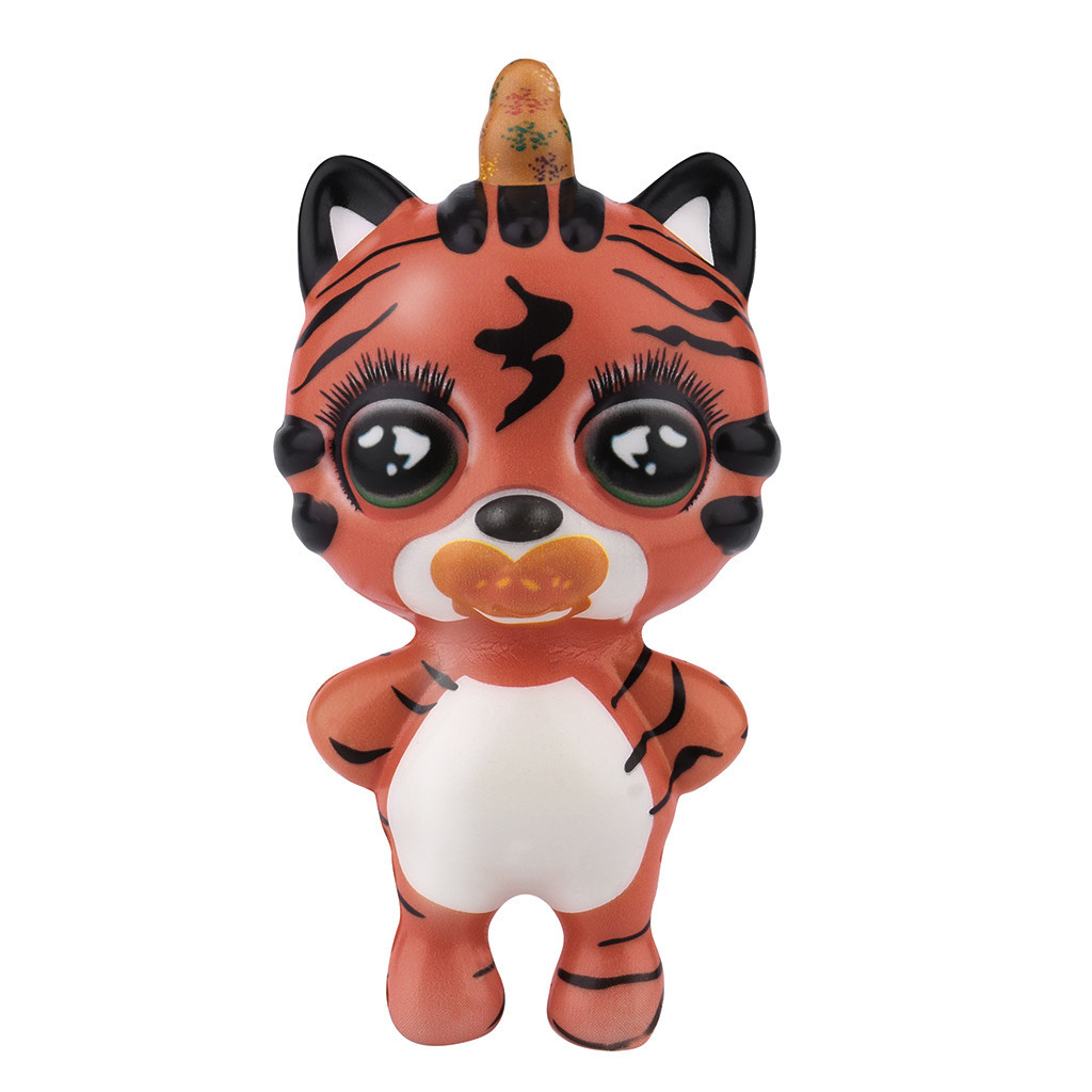 Colorful Creative Cartoon Decoration Animal Stretchy Healing Toys Slow Rising Antistress Toy Toys For Children #A