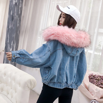 2019 Lady Quality Increase Thickening Exceed Heavy Cotton Lamb Short Loose Coat 2