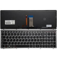 NEW US laptop keyboard for Lenovo Ideapad Z710 U510 US keyboard with Backlight