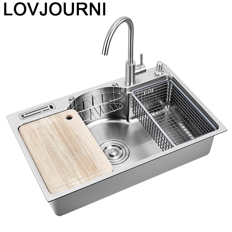 Acero Inoxidable Zlewozmywak Ze Stali Nierdzewnej Waschbecken Kitchen De Cocina Cuba Pia Cozinha Fregadero Vegetable Wash Sink