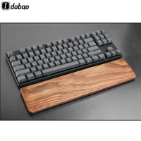 87 Solid Wood Wrist Rest Ugyen Wood Ash Wood For 61 87 104 Key Mechanical Gaming bluetooth Keyboard Free Shipping Teclado Mecanico (1)