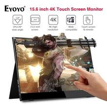 Eyoyo 15.6'' Portable 4K IPS Touch screen 1080p gaming monit