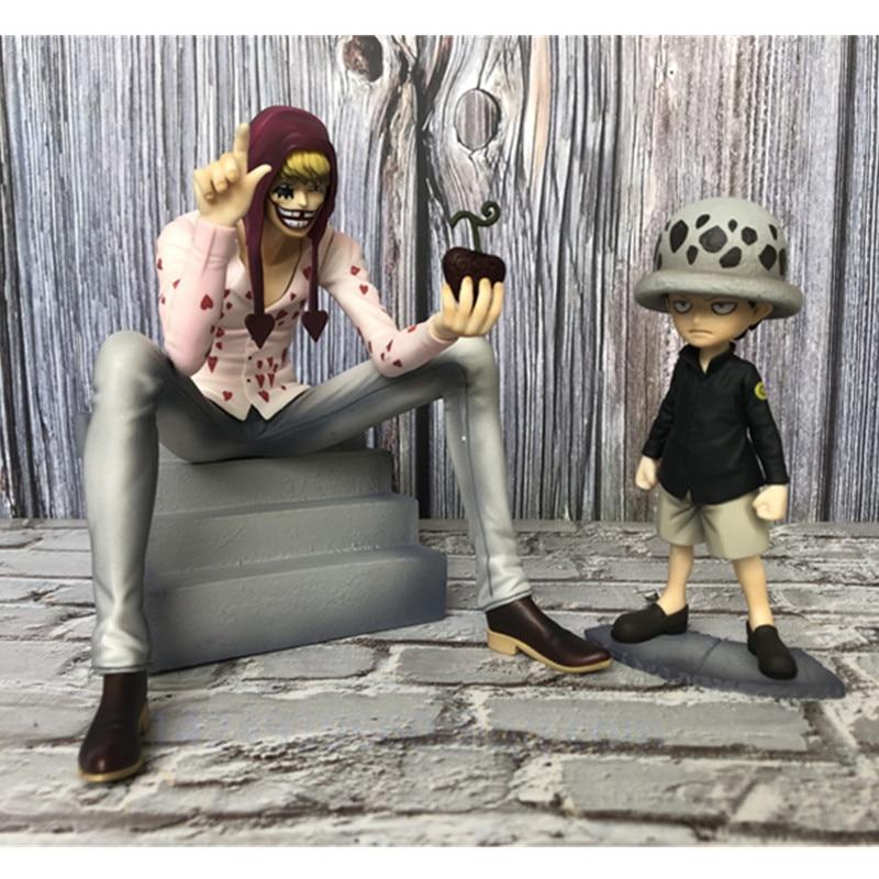 20CM Anime ONE PIECE Corazon Donquixote Rosinante Trafalgar Law PVC Action Figure Collectible Model Statue Toy Free Shipping R3