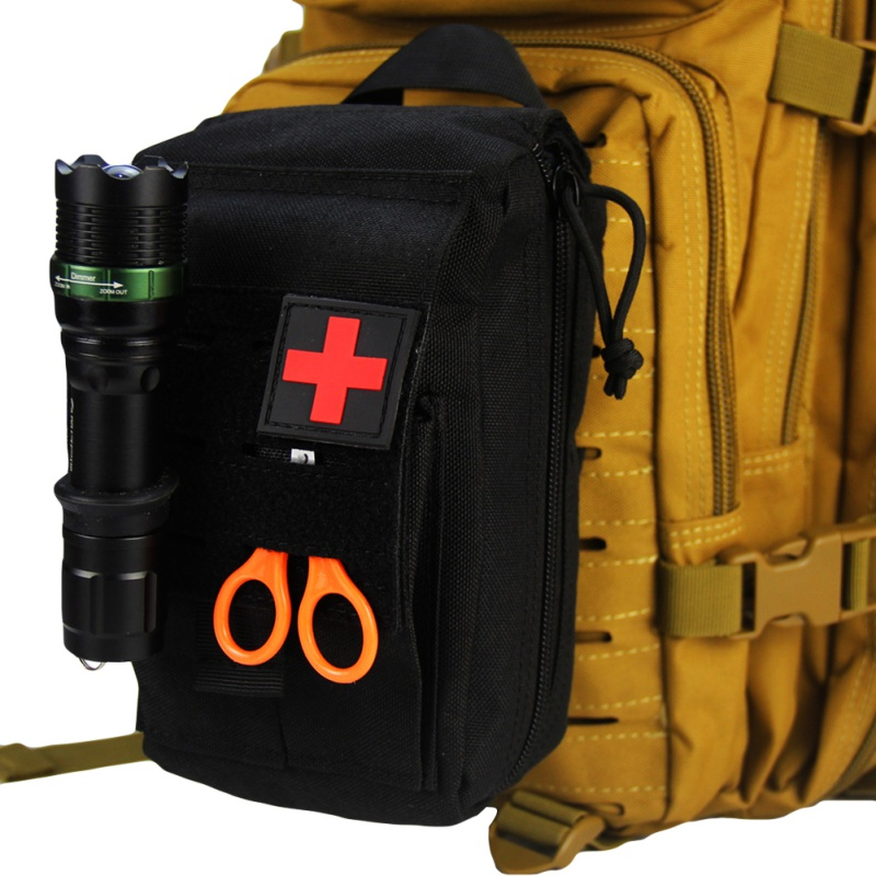 First Aid Outdoor Medical Bag Nylon Multifunctional First Aid Kit For Mountain Camping Hiking Camping Quick Rescue Accessories