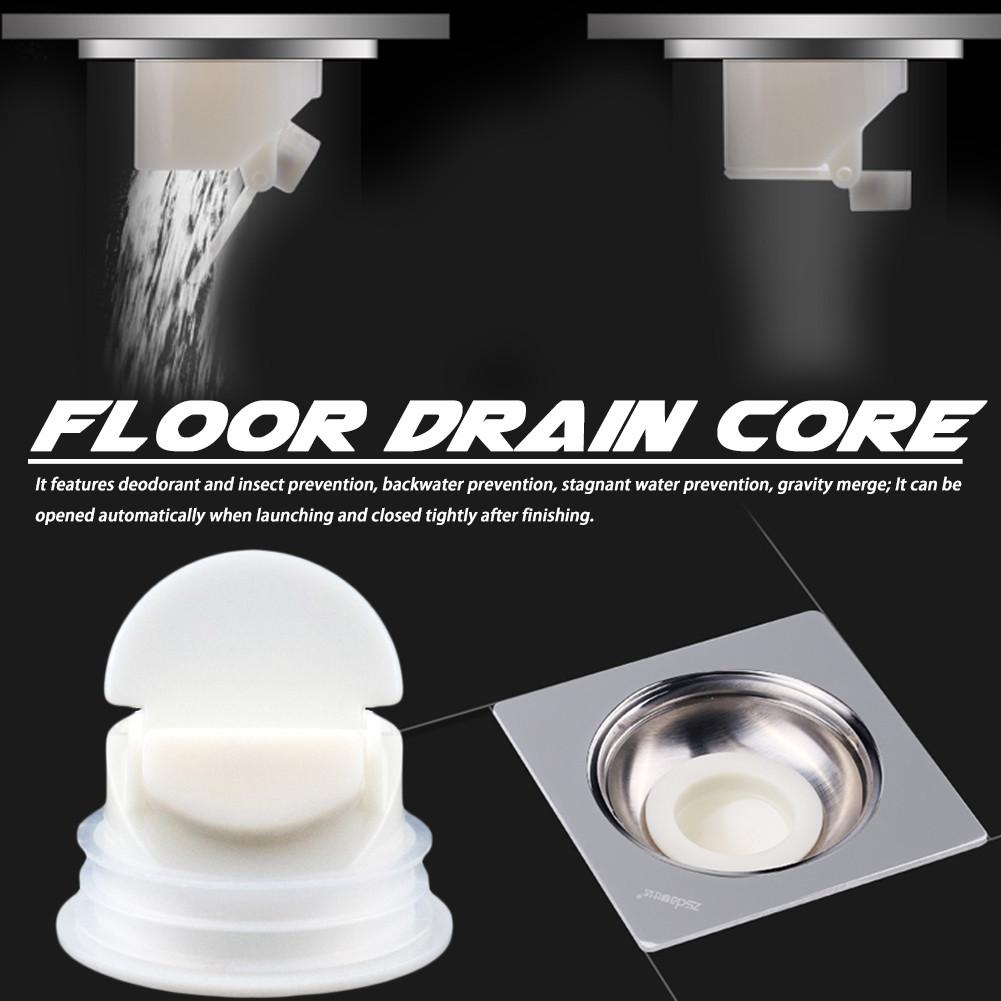 Anti-smell Odor Proof Floor Deodorant Core Sewer Drain Cap Water Plug Trap Filter Kitchen Bathroom Accessories 40P