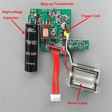 High-voltage Camera Flash Board Photoflasher Circuit Replacement Xenon Highlight Repair Accessories