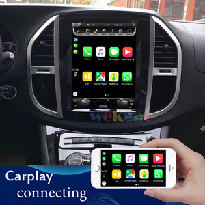Image 5 - Wekeao Vertical Screen Tesla Style 12.1 Android 9.0 Car Dvd Multimedia Player For Mercedes Benz Vito Car DVD Player 4G 2016+