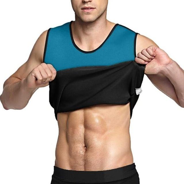 Modeling Strap Male Mens Tee Shirt Vest Sweat Shirt Corset Slimming Underwear Belt Reducing Belts Shapers Neoprene Body Shaper 2
