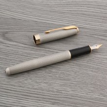 school Writing metal gift pink Brushed Feather Arrow golden gift Rollerball Pen