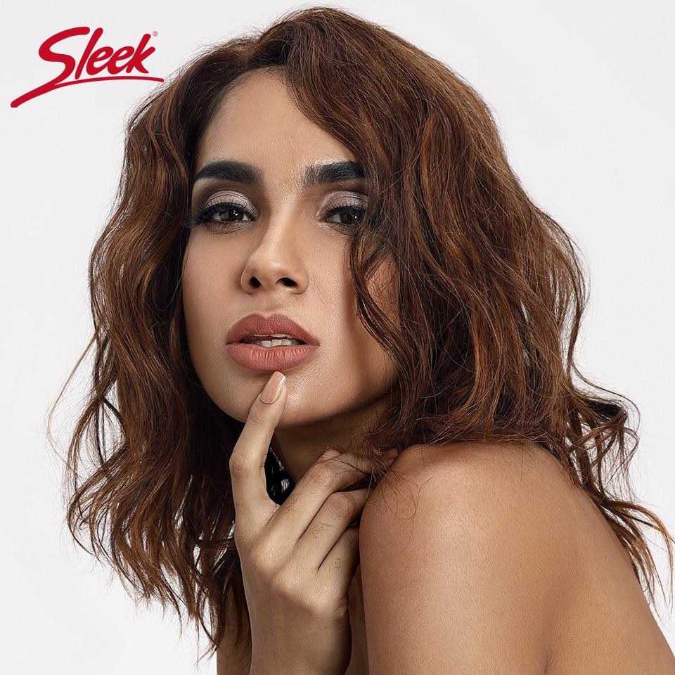 Гладкие кружевные парики из натуральных волос волнистые человеческие волосы парики 100% Remy бразильские волосы парики u-части короткие