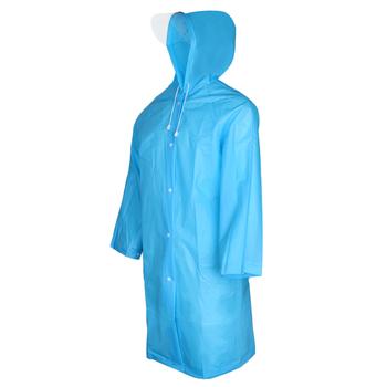 Wodoodporny poncho przeciwdeszczowe wielokrotnego użytku płaszcz przeciwdeszczowy dla dorosłych z kapturem i daszkiem biały tanie i dobre opinie perfeclan