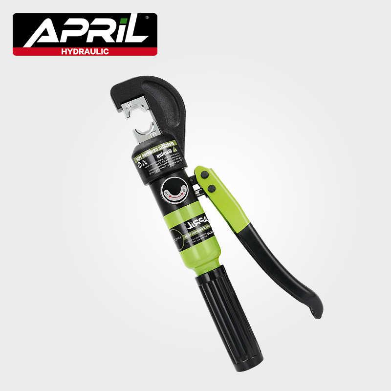 Hydraulische Crimpen Werkzeug Hydraulische Crimpen Zange Hydraulische Kompression Werkzeug YQK-70 Palette 4-70MM2 Druck 5-6T