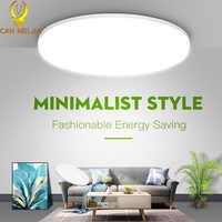 Luces Led de techo de 220V lámpara de techo moderna de 15/20/30/40W con Sensor de movimiento, accesorio de iluminación de techo para sala de estar, cocina y dormitorio