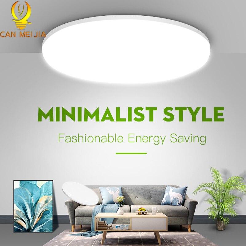 Sensor de movimento luzes de teto 220v conduziu a lâmpada do teto 15/20/30/40w moderna luminária teto para sala estar quarto cozinha