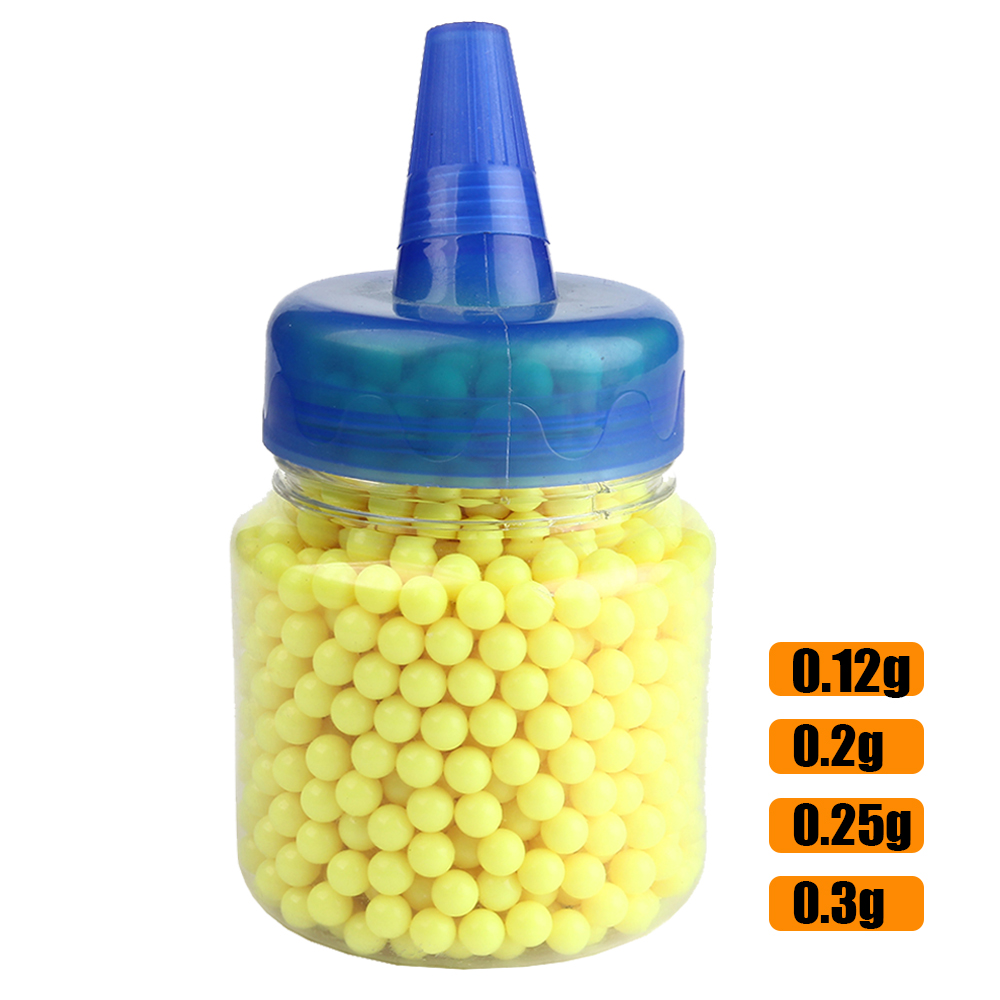 1000Pcs Shooting Airsoft Gun Plastic <font><b>BB</b></font> Bullet <font><b>Balls</b></font> Hunting Rifle Gun Strike <font><b>Ball</b></font> Hunting Ammo 0.12g 0.2g 0.25g 0.3g <font><b>BB</b></font> <font><b>Balls</b></font> image