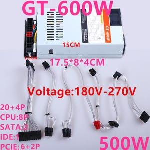 PSU Power-Supply ATX Flex-Nas Small GT-600W 500W Supporting K39 New 2 for Speedcruiser