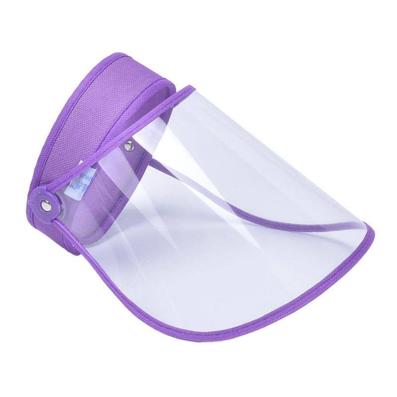Anti-Droplet Saliva Empty Top Hat  Mask Safety Face Protection