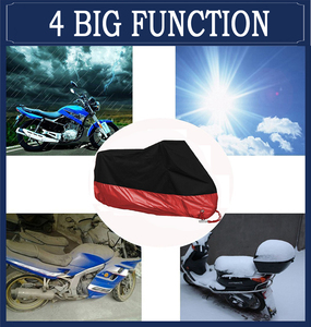 Image 5 - オートバイカバーユニバーサル屋外 uv プロテクタースクーターオールシーズン防水バイク雨防塵カバー ml xl 2XL 3XL 4XL 190 t