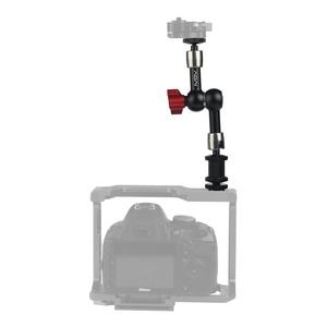 "Image 3 - 7 ""11"" Magic Arm Verstelbare Magic Gelede Arm Super Clamp Voor Montage Hdmi Monitor Led Light Video Camera flash Camera Dslr"