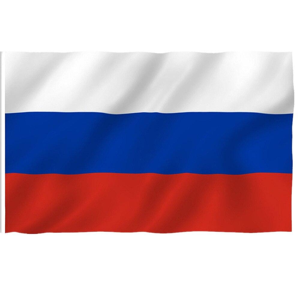 1 шт. уличные флаги Российской Федерации, флаг Российской Федерации, баннер со страной высокого качества из полиэстера, российский флаг для ...
